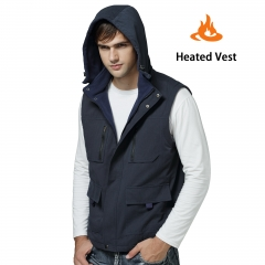 Rabbitroom Electric Warmer Rechargeable Heated Vest With 3 Heat Settings