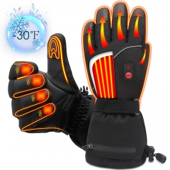 Winter Electric Heated Gloves Battery Power Heating Gloves Touchscreen Texting Warm Thermal Gloves for Hiking Skiing Hunting Hand Warmer
